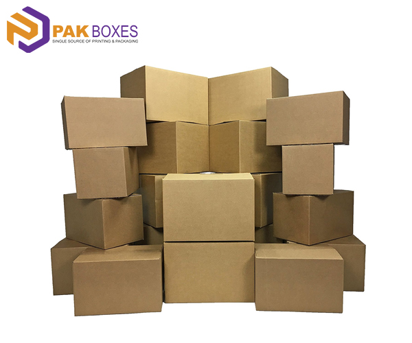Kraft-moving-boxes