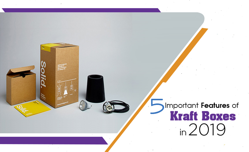Top 5 Important Features of Kraft Boxes